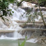 Dunn River waterfalls terasos